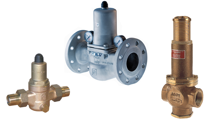 Direct Acting Pressure Reducing Valves