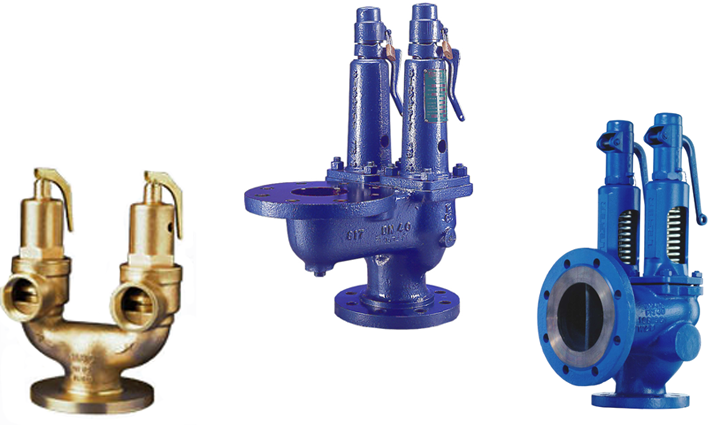 Double & Twin Double Safety Relief Valves