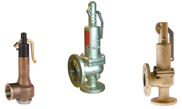 High Capacity Safety Relief Valves