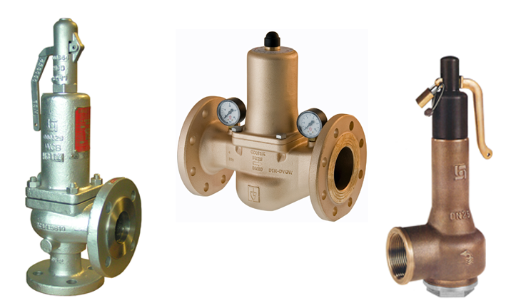 Pressure Safety & Control Valves