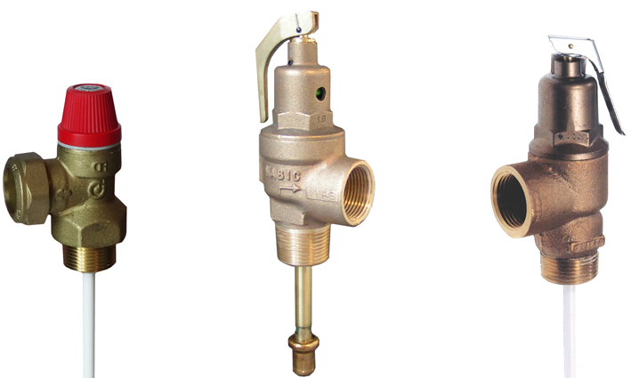 Pressure & Temperature Safety Relief Valves