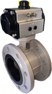 JV46P - Pneumatic Actuated Butterfly Valve