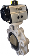 JV64P - Pneumatic Actuated Butterfly Valve