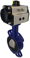 JV240002 - Pneumatic Actuated Butterfly Valve