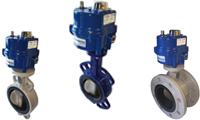 Electric Actuated Butterfly Valves