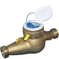 M190 (MTHR) - Elster Brass Warm Water Meter