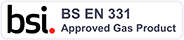 BSI EN331 Gas Approved Product