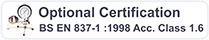 BS EN 837-1 Certification