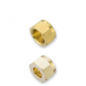 Wade Brass Compression Nuts