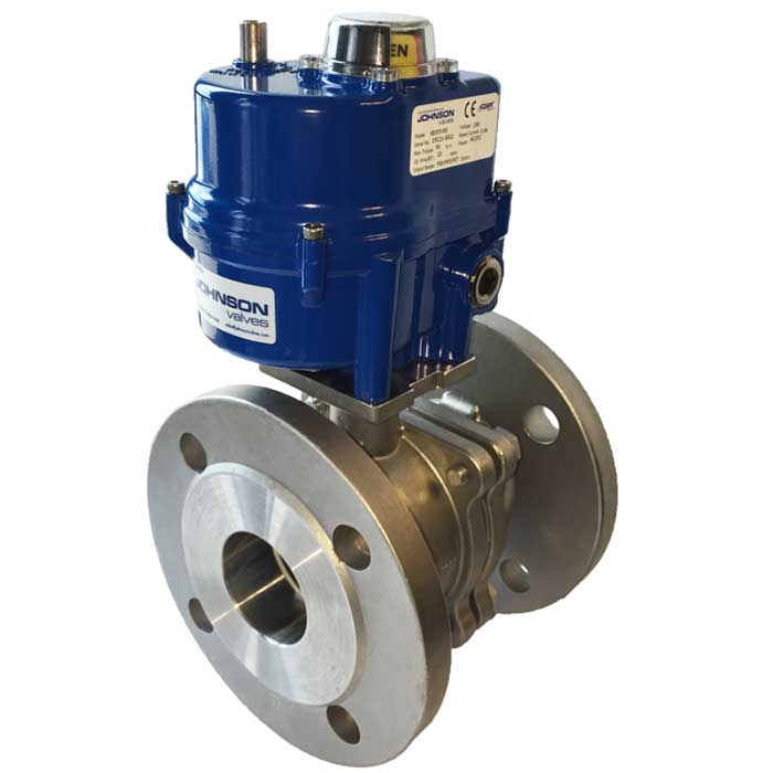 Electric Actuated Ball Valves - Johnson Valves