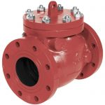 A2120 / A2122 - Cast Iron Mueller® Check (Non-Return) Valve