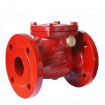 JV080039 – Ductile Iron Swing Check Valve (Non-Return) Valve - NBR Seals