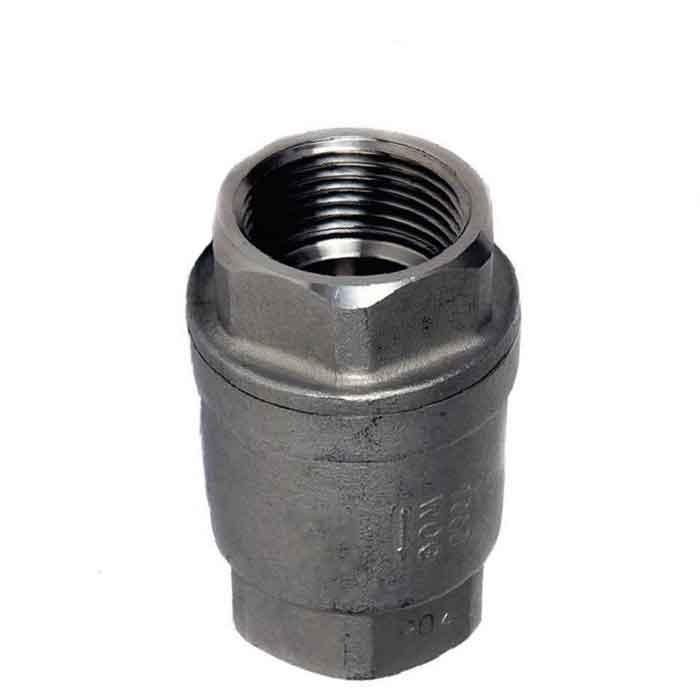 Jv081001 Stainless Steel Spring Loaded Check Non Return