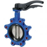 JV100010 – Ductile Iron Lugged Butterfly Valve, EPDM Lined - WRAS Approved