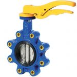 JV100011 – Ductile Iron Lugged Butterfly Valve, NBR Lined
