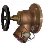 JV120004 - Bronze Oblique Fire Hydrant Landing Globe Valve - BS336 Instantaneous