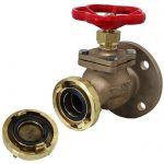 JV120007 - Marine Bronze Straight Fire Hydrant Landing Globe Valve - Storz