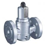 431 – Goetze In-Line Discharge Stainless Steel Overflow & Pressure Control Valve - Flanged