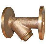 JV150002 – Bronze Flanged Y-Type Strainer