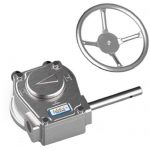 JV240108 - Stainless Steel Manual Gearbox Actuator